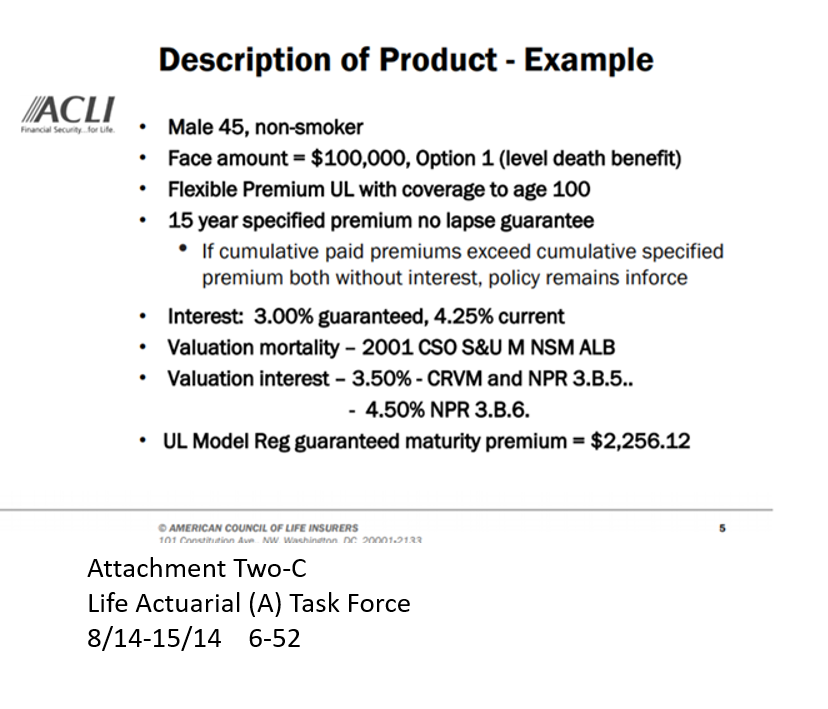 2014-ACLI-Description-of-Product-Example-NAIC-Proc